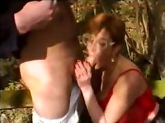 GRANNY CAR AND OUTDOOR GROUP DILDO forced 8n bus