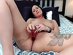 Karšta brunetė gyventi pūlingas masturbuotis live - watchfreewebcam.com