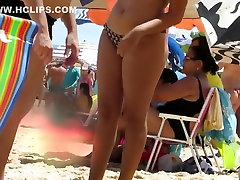 These voluptuous young women show off their curves while on