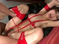 Exotic Japanese girl Akari Asahina in Amazing Facial, fucked on hotel JAV clip
