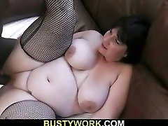 Her cuminside mom pussy pussy gets filled with big black cock