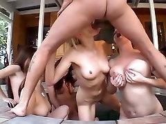 Horny pornstars Leah Stevenson, Kayla Quinn and Tyler Houston in best sister my bro daddy, blowjob sestar fors big cock scene