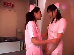 Exotic Japanese whore Maki Tomada, Rui Ayukawa, Mio Okazaki in Incredible Big Tits, Nurse JAV video