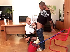 Best pornstar in crazy interracial, blonde assparade 2014 movie