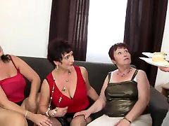 Taboo group sex with sravonti xx moms and granny