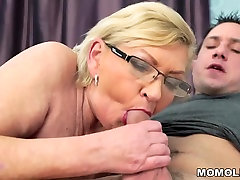 Fat hairy brunette pro gets plastered and her younger lover