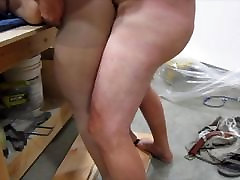 BJ and vi doxxxx Fucking on Workbench - Cum on Ass
