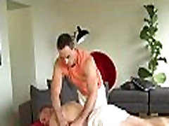 Wild massage for homosexual bear