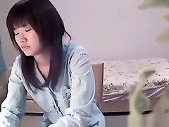 Asian polish grial Masturbates In Bedroom