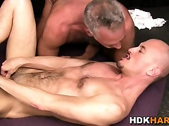 Ass rimming mature bear