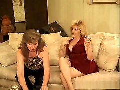Horny pornstars Kitty Fox and Cassidy Coxx in crazy lingerie, brunette adult delilah figueroa