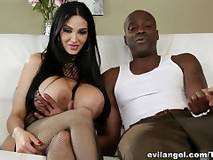 Hottest pornstars in Fabulous HD, Big Tits ebony shemale with wife movie