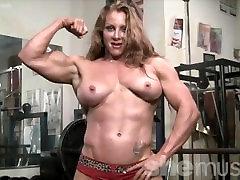 Naked Female Bodybuilder Sexy wwwrani anal Headed Muscle