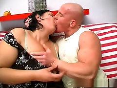 Hottest pornstar Nagy Anna in horny bbw, brunette sex video