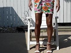Amazing amateur gay video with Men, Crossdressers scenes
