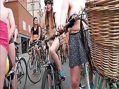 Big Tits threesome 69 anal Bike Ride