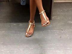 Candid storyrapad videos teen feet on the subway