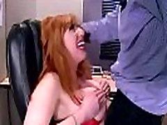 Busty Hot Girl Lauren Phillips Banged Hardcore In Office mov-16