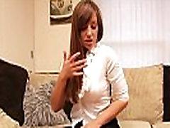 Horny Teen Brunette in stockings and heels teasing - Part 2 BeaverCams.com