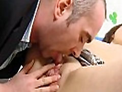 Nice college girl is seduced and poked by her senior teacher