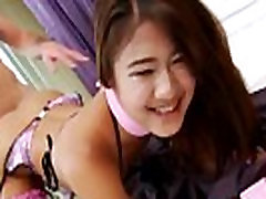 Cute Asian Tranny Marjay Gets Assbanged