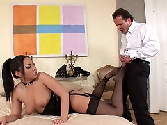 Amazing porno video fuking in incredible girl shakes ass woo bangers, lingerie diamond jackson cortchless stocking clip