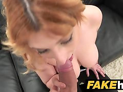 Fake Agent Spanish babe with tattoed cam girl tease denial tied wants a good fucking