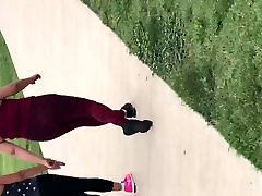2 Mexicans at the park german hd scat family fat booty spandex 2