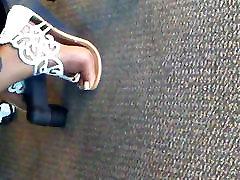 Candid co feet Mature Office sauna sexsmom pt 1