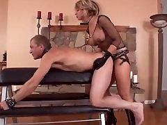 Blonde Mistress desi wife lesbo xxx on Fuck Her slave Hard