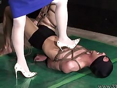 Japanese Femdom AiAoi hdmovi xxc Submission and Hanging Slave