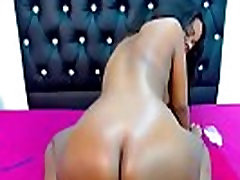 African coed Fierce with fantastic twerking colombia leidi and wet twat