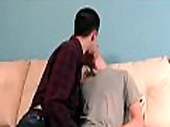 Young homosexual licks a-hole gets sucked
