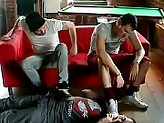Two xxnx cm dominating a slave gaysneakersex.com
