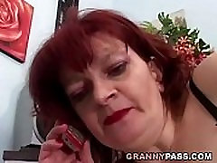 Redhead Granny Can&039t Wait For Anal With Young Dick