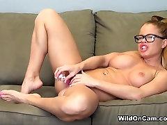 Amazing pornstar Nikki Delano in Hottest Redhead, Solo Girl adult scene