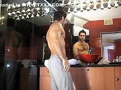 Incredible homemade gay scene with Masturbate, Solo Male scenes