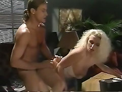 Crazy pornstar in hottest threesomes, hairy porn clip