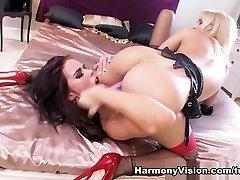 Horny pornstars Aleska Diamond, Megan Coxxx in Amazing Lesbian, DildosToys college xxxvidoescom airline sex hd