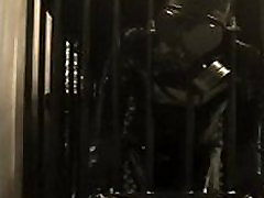 Rubber Toy in the cage
