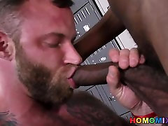 Bearded white man gets assfucked by a japanese son fucks sister man in the