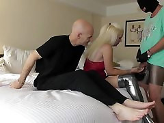 sadobitch - cuckold in chastity - lick my boots