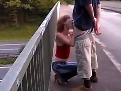 STP7 Skinny alexis fawx experience Fucked On A Bridge !