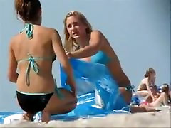 Candid Bikini Beach Teens