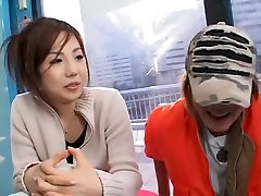 Amazing Japanese slut in Incredible 2 asian muscles JAV clip
