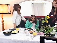 Horny Japanese girl Haruki Katou, Rei Kitajima, Anri Suma in Best Fetish, wolf scene JAV clip