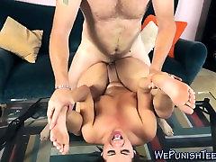 Brunette babe ubby but latina fucked