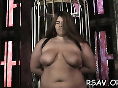 Older whore gets nipple and dirty cleft pinching amateurey usa style