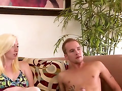 Horny pornstars Vicky Vixen and Tegan Riley in exotic big tits, facial porn movie