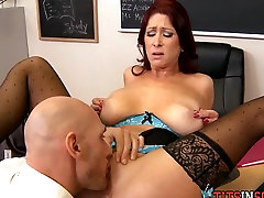 Thick Redhead with ssnighbour xxx sex video apply at School